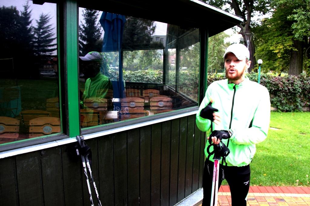 Szkolenie Nordic Walking, Trener Krzysiek