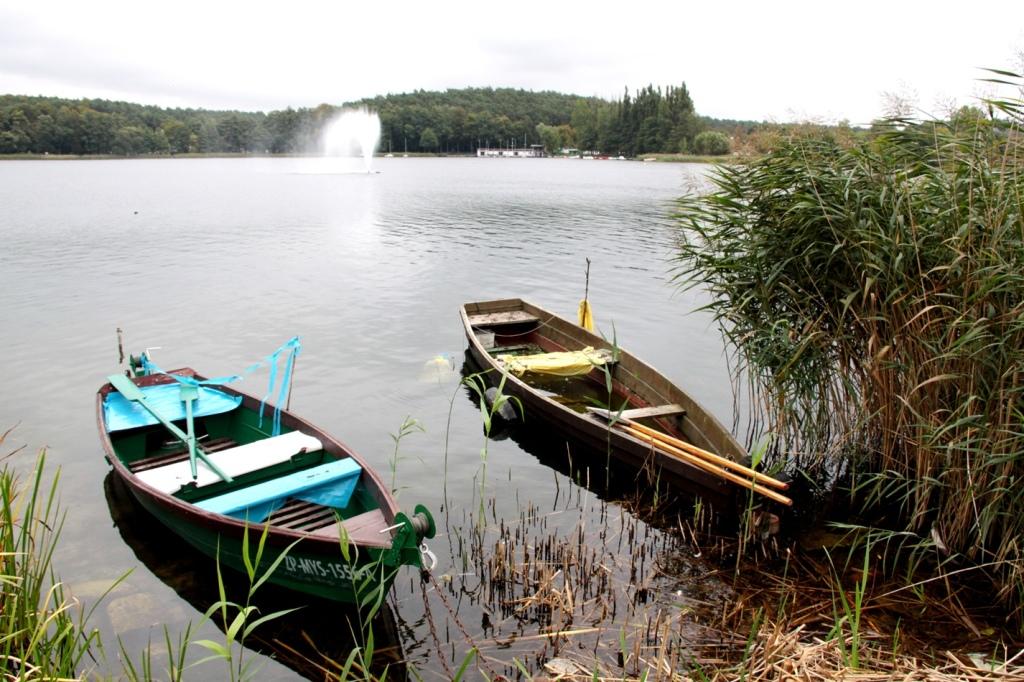 Łódki rybackie