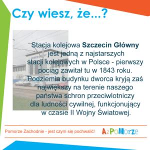 Dworzec w Szczecinie.